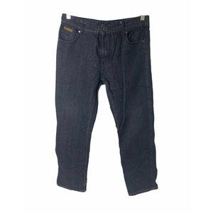 ~Boys 18 Sean John black denim straight leg jeans